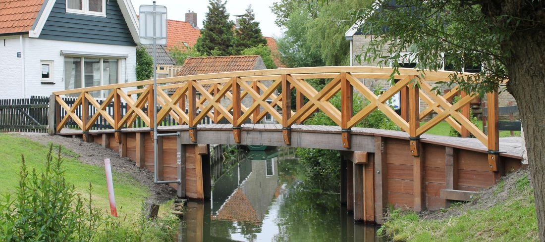 houten brug bruggen