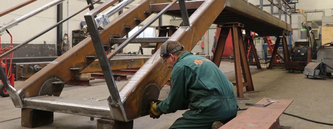 staalbouw staalbewerking staalconstructie