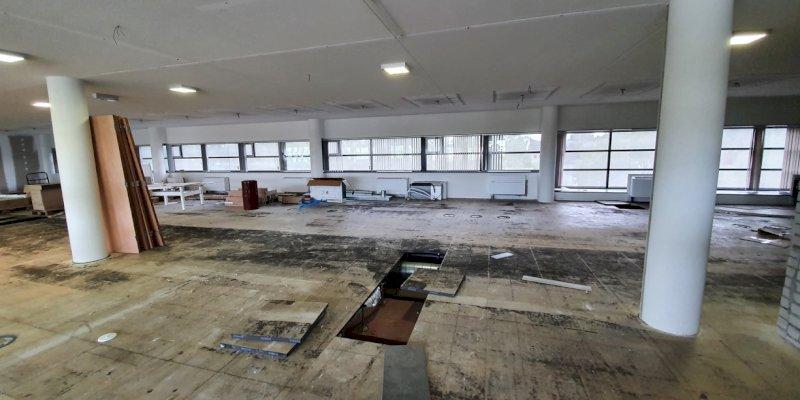 Nieuw kantoor vir2biz: de verbouwing is in volle gang