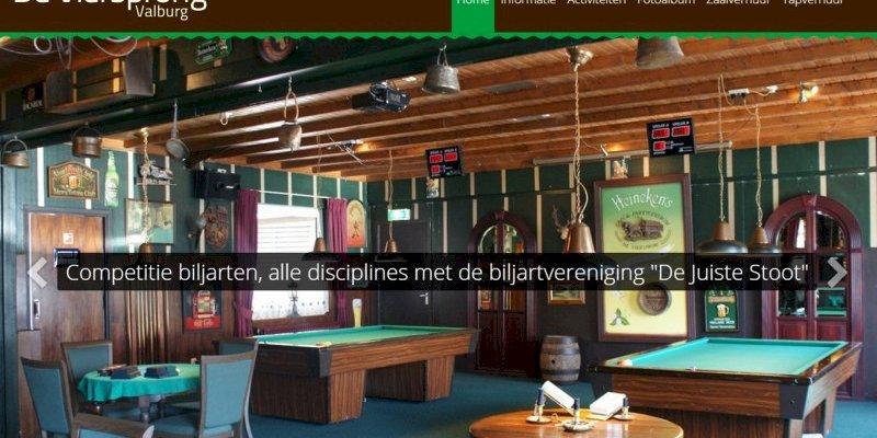 Nieuwe website Café de Viersprong in Valburg online