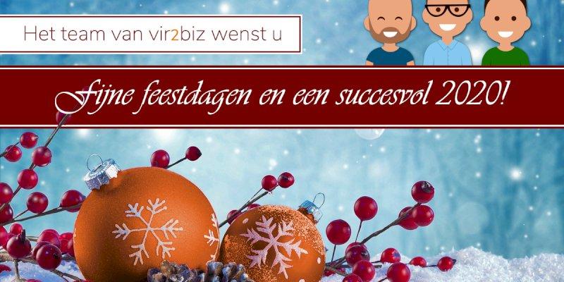 Prettige feestdagen! (Aangepaste openingstijden)