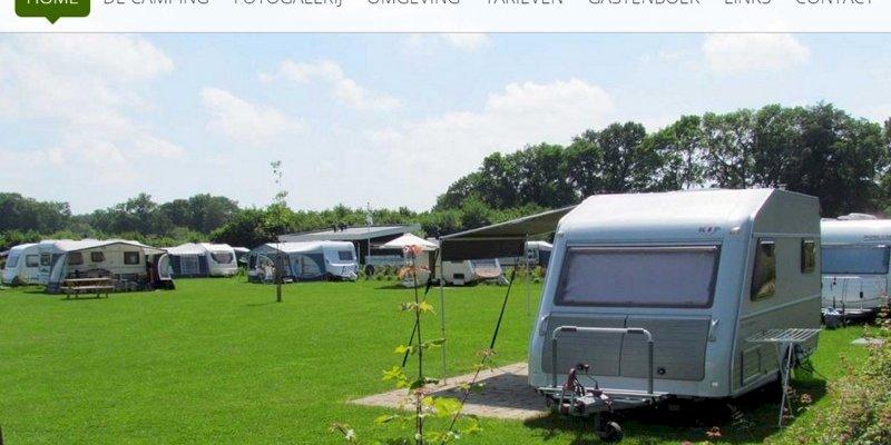 Vernieuwde website Camping t Meulenbrugge uit Vorden online