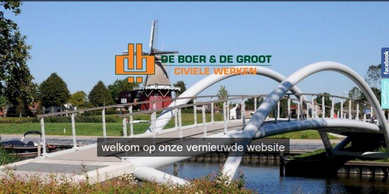 Vernieuwde website de Boer en de Groot Harlingen online