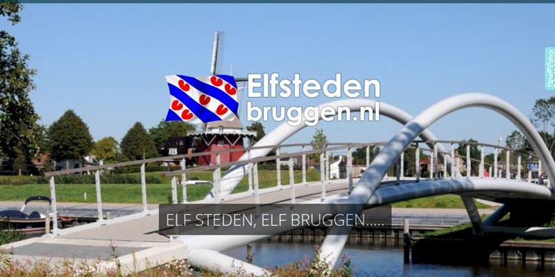 Vernieuwde website Elfstedenbruggen.nl online