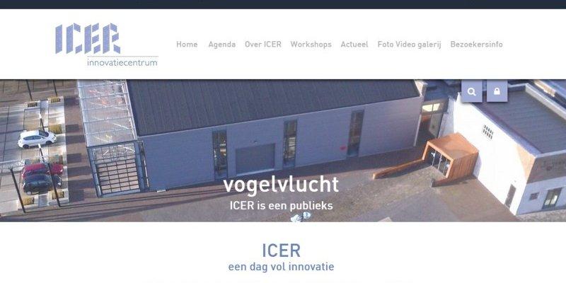 Vernieuwde website Innovatiecentrum ICER uit Ulft online