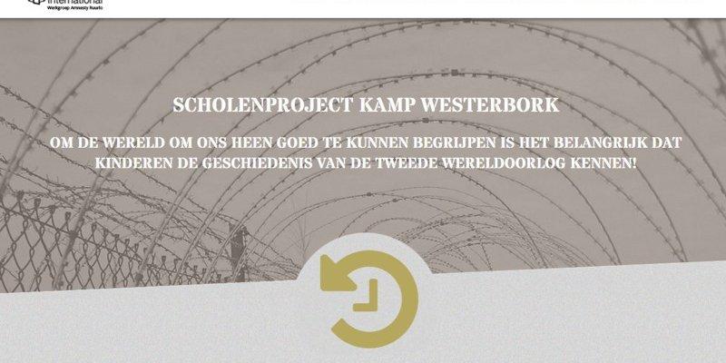 Vernieuwde website Kamp Westerbork Scholenproject online