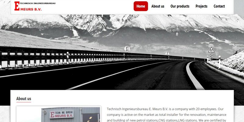 Vernieuwde website Technisch Ingenieursbureau E. Meurs B.V. uit Lochem online