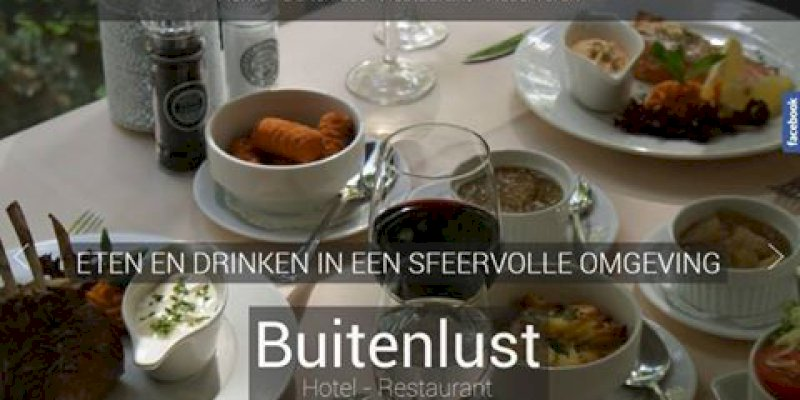 Vernieuwde website van Hotel Buitenlust in Hoenderloo online
